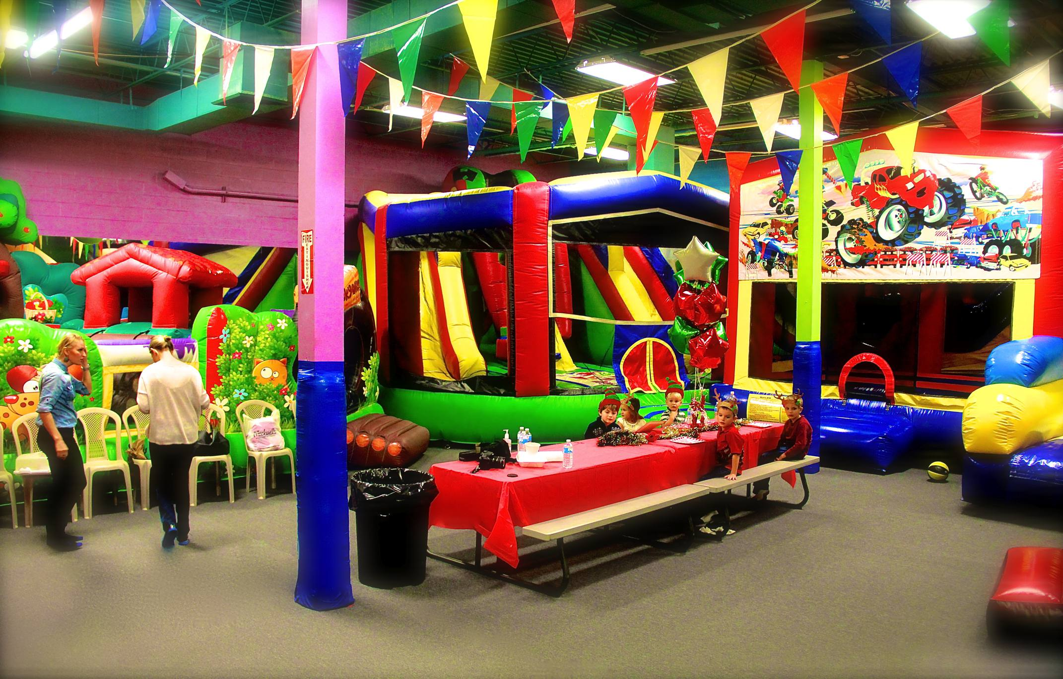 Book Your Party in Virginia Beach Bounce House LLC