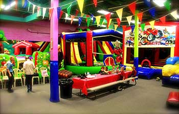 Spacious And Quiet Large Facility Easily Accessible Through Your Party Room Have An Ultimately Private Birthday Celebration Where Jump Area Is All